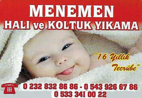 MENEMEN HALI YIKAMA