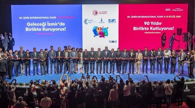 90. İzmir Enternasyonal Fuarı açıldı