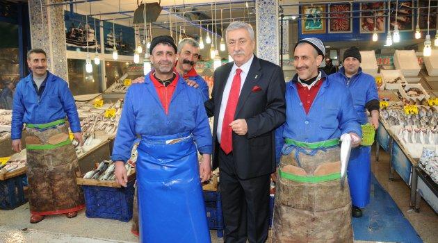 """BALIKÇI ESNAFI YENİ SEZONDAN ÜMİTLİ"""
