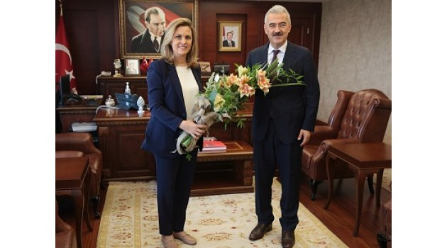 Başkan Akdurak'tan Vali Ayyıldız'a veda ziyareti