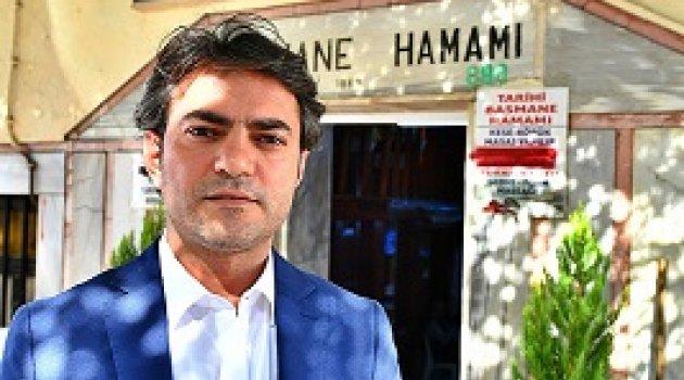 Basmane Hamamı'nın kapıları evsizlere açıldı
