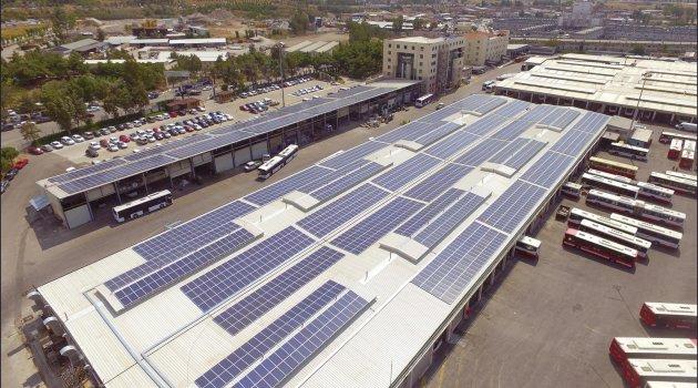 ESHOT tüm elektrik ihtiyacını güneşten sağlayacak