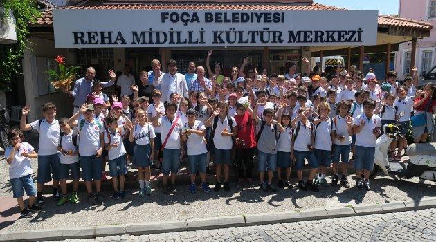 FOÇA'DA 'MAHALLİ İDARELER' DERSİ