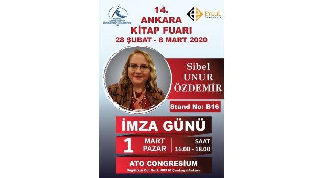 Gazetemizin köşe yazarı Sibel Unur Özdemir, İmza gününde sizlerle...