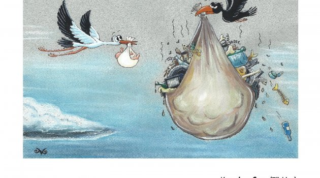 Gelecek için 5 kıtadan 100 karikatür