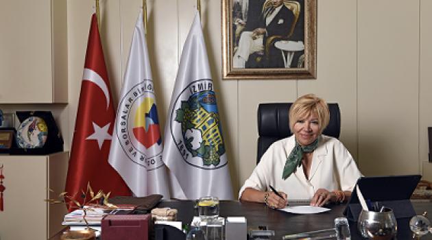 """Işınsu Kestelli, """"İzmir Ticaret Borsası Yönetimi olarak tarihi Borsa binası için önemli bir karara imza attık."""