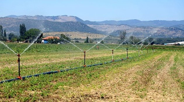 İzmir İlimizde 400 Bin Dekar Tarım Arazisi  Sulanmaya Başladı