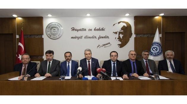 İZMİR ÜNİVERSİTELERİNDEN ''ZEYTİN DALI HAREKATI'' NA DESTEK