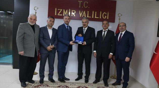 İzmirli STK'lardan Vali Ayyıldız'a Ziyaret