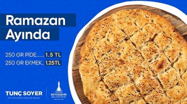 Kent Ekmek'te Ramazan pidesi 1,5 liraya satılacak