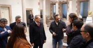 Ayvalık Belediye Başkanı Mesut Ergin,Anıtlar Kurulu ile Ayvalık'ta incelemelerde bulundu.