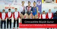 Cimnastikte büyük gurur