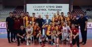 TSYD Voleybol Turnuvası'nda birinci belli oldu