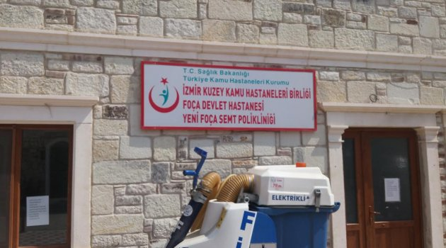 YENİFOÇA SEMT POLİKLİNİĞİ KAPATILDI